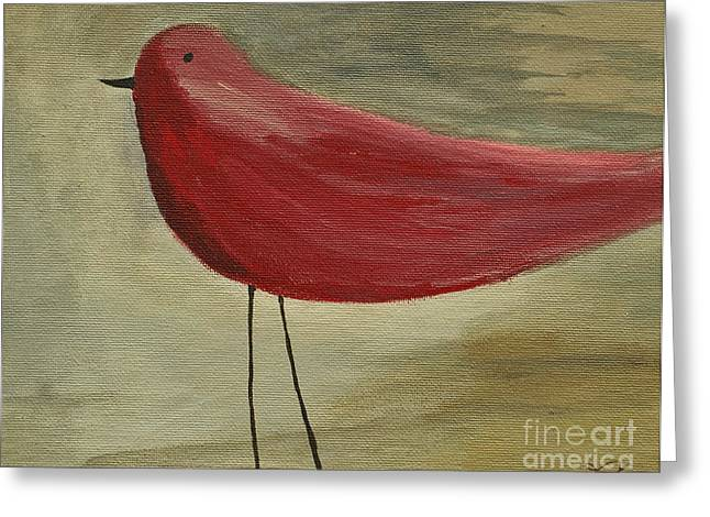 The Bird - Original Greeting Card by Variance Collections