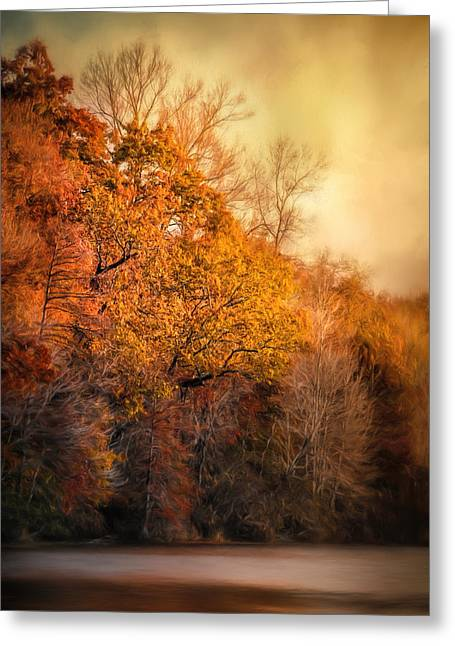 The Birth Of Autumn Greeting Card