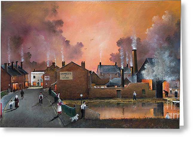 The Black Country Village Greeting Card