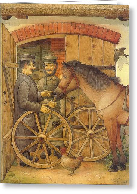 The Blacksmith Greeting Card