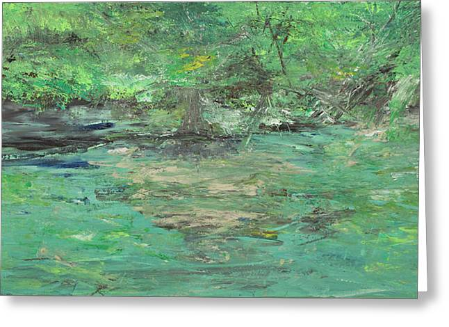 The Blanco At Wimberly Greeting Card by Julene Franki