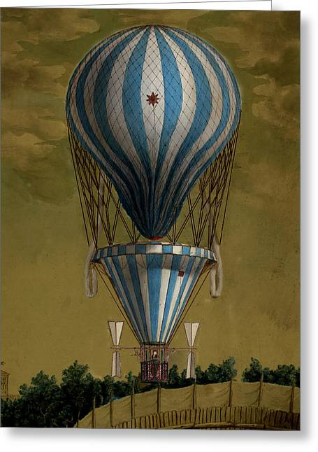 The Blue Balloon Greeting Card