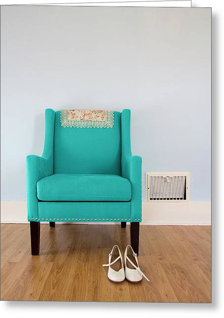 The Blue Chair Greeting Card
