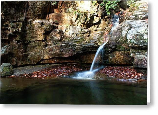 The Blue Hole In November #2 Greeting Card by Jeff Severson