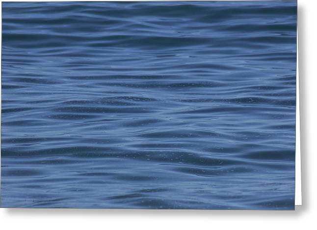 Greeting Card featuring the photograph The Blue Pacific by RKAB Works