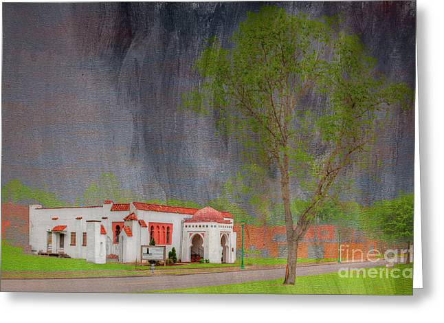 The B'nai Israel Synagogue  Greeting Card by Larry Braun