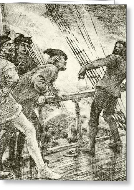 The Boatswain Greeting Card