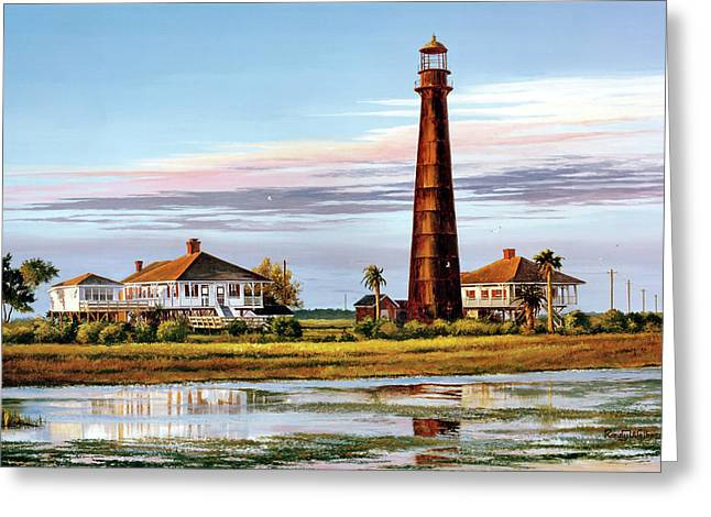 The Bolivar Lighthouse Greeting Card