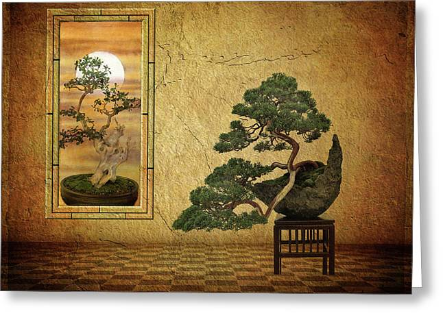 The Bonsai Room Greeting Card