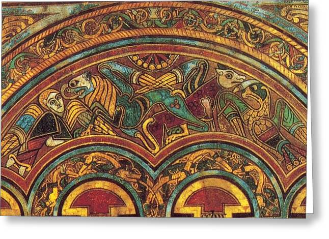 The Book Of Kells Greeting Card