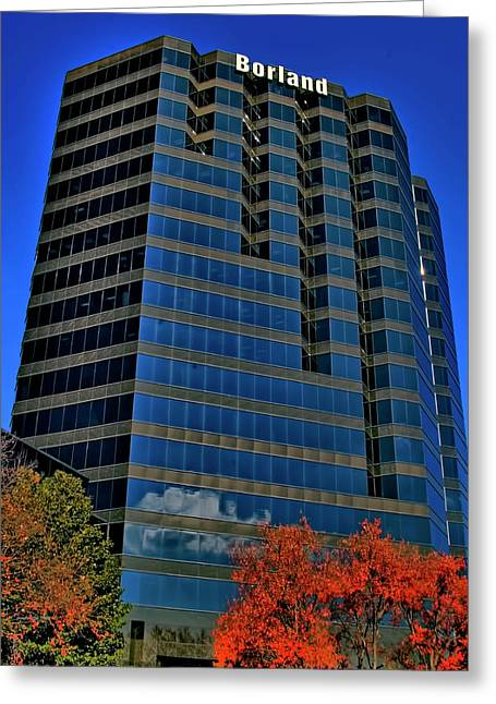Photographers Duluth Greeting Cards - The Borland Atlanta Greeting Card by Corky Willis Atlanta Photography