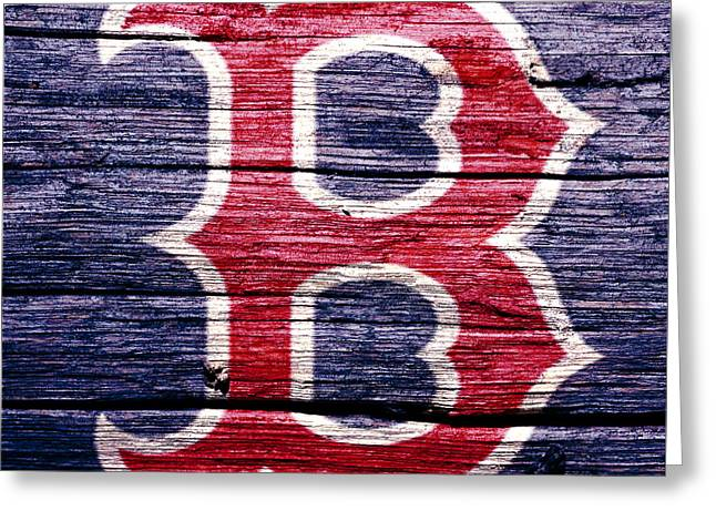 The Boston Red Sox 2b Greeting Card
