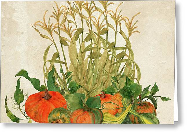 The Bountiful Harvest Greeting Card