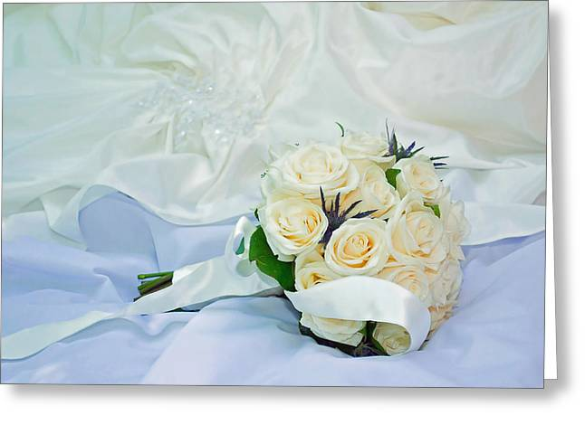 Greeting Card featuring the photograph The Bouquet by Keith Armstrong
