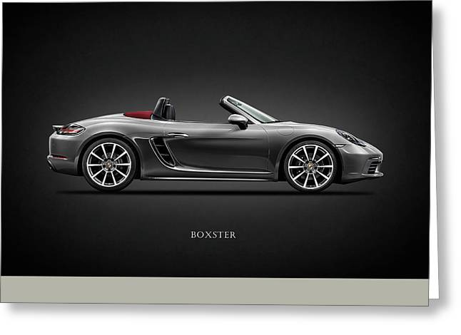 The Boxster Greeting Card by Mark Rogan