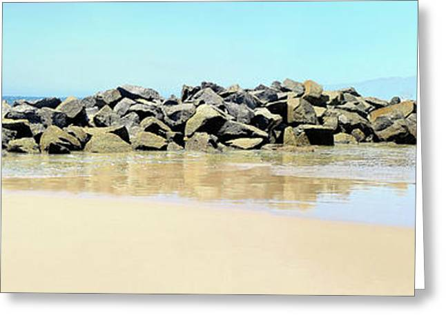 The Breakwater Greeting Card