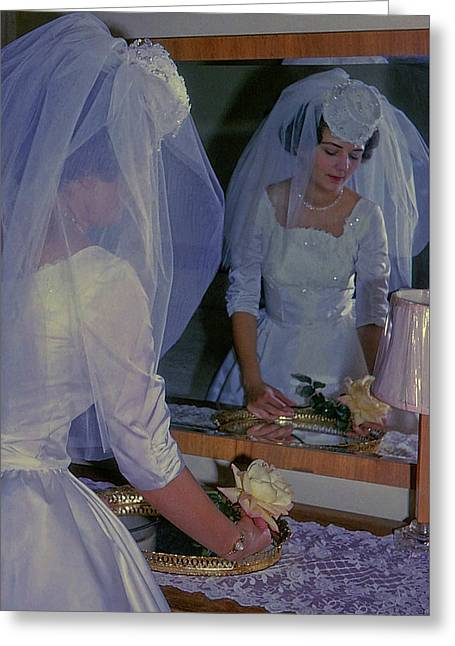 The Bride Greeting Card by JAMART Photography