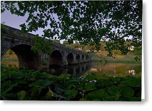 The Bridge At Inistogue Greeting Card by Joe Houghton