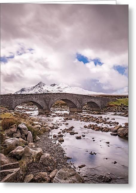 The Bridge At Sligachan On Skye Greeting Card