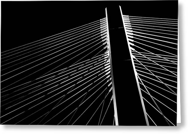 Greeting Card featuring the photograph The Bridge by Chris Feichtner