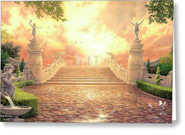 The Bridge Of Triumph Greeting Card