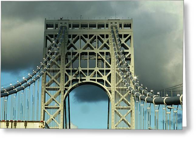 The Bridge Greeting Card by Paul SEQUENCE Ferguson             sequence dot net