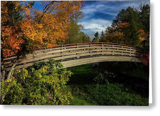 The Bridge To The Garden Greeting Card