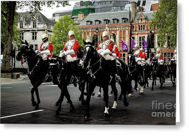The British Cavalry Greeting Card