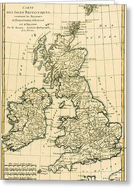 The British Isles Greeting Card
