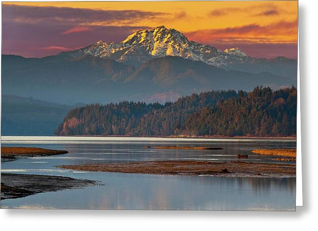 The Brothers From Hood Canal Greeting Card