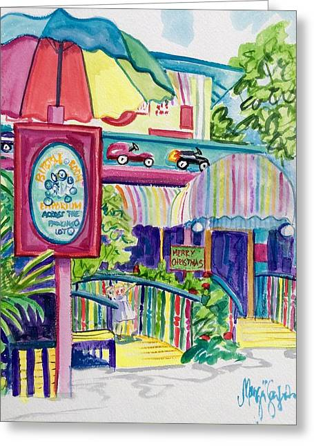 The Bubble Room Captiva Greeting Card