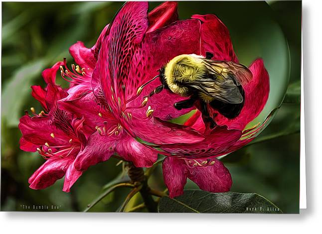 The Bumble Bee Greeting Card