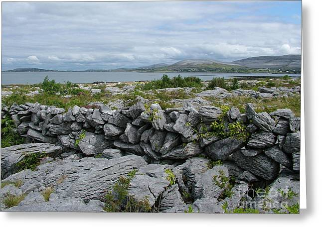 The Burren Greeting Card by Joe Cashin