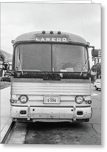 The Bus To Laredo Greeting Card