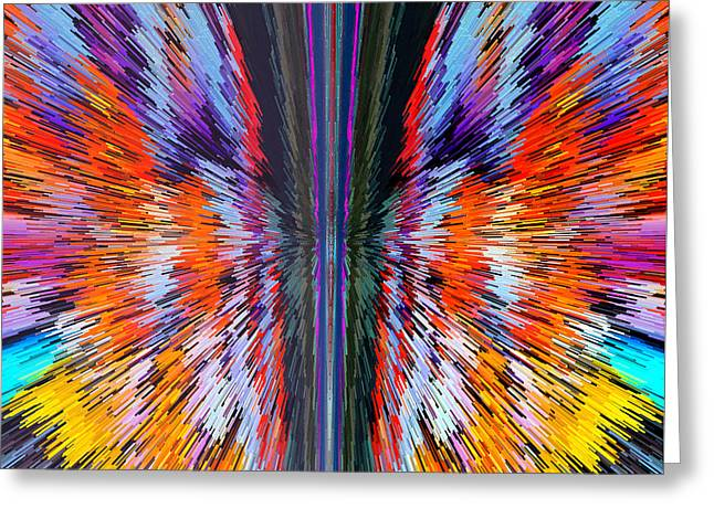 The Butterfly Effect Greeting Card by Marian Bell