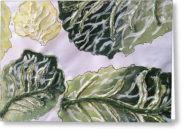 The Cabbage Greeting Card