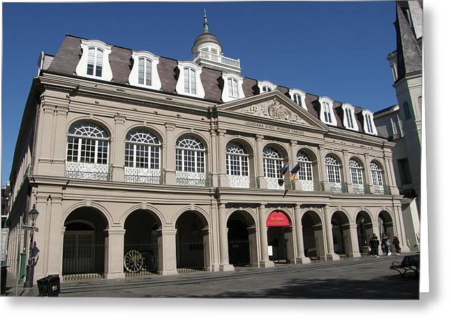 The Cabildo Greeting Card by Jack Herrington
