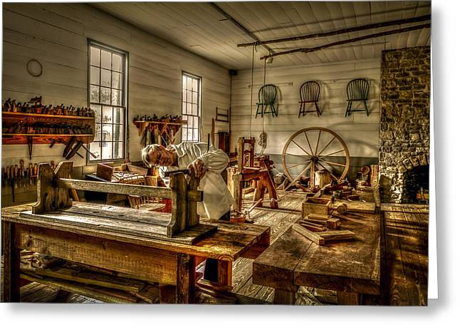 The Cabinetmaker Greeting Card