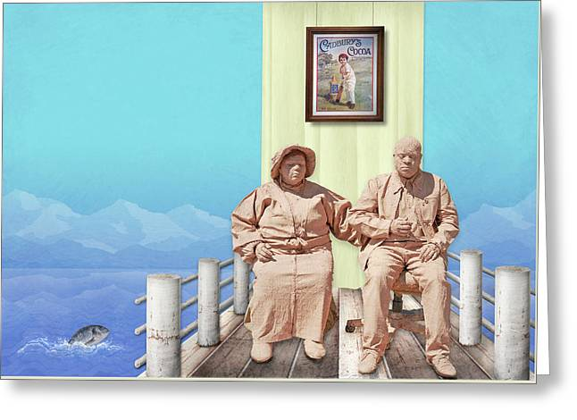 The Cadburys On Vacation Greeting Card