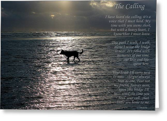 The Calling  Version Two Greeting Card