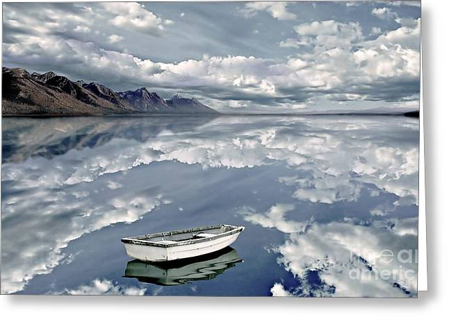 The Calm Greeting Card by Jacky Gerritsen