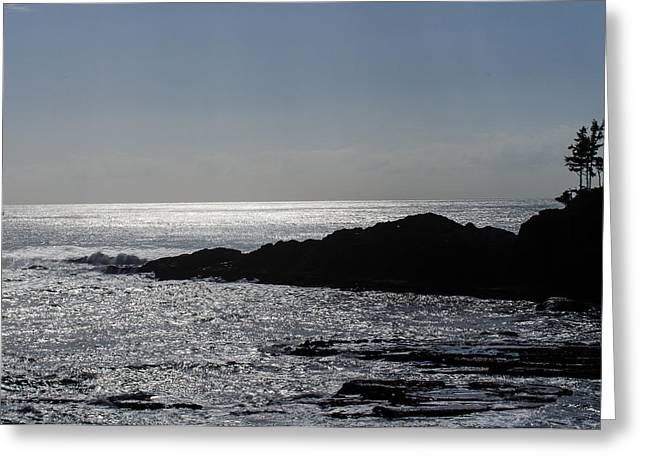 The Calming Sea Greeting Card