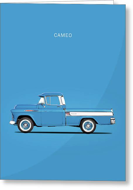 The Cameo Pickup Greeting Card by Mark Rogan