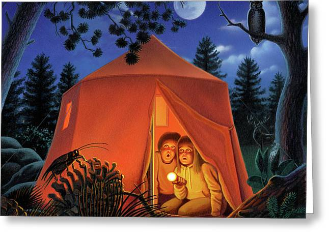 The Campout Greeting Card