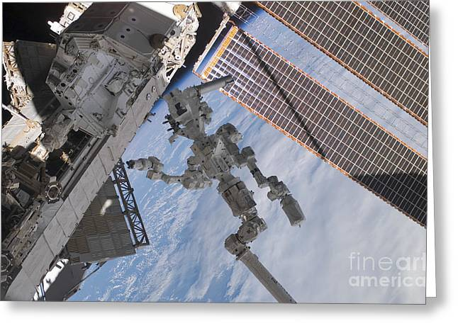 The Canadian-built Dextre Robotic Greeting Card by Stocktrek Images