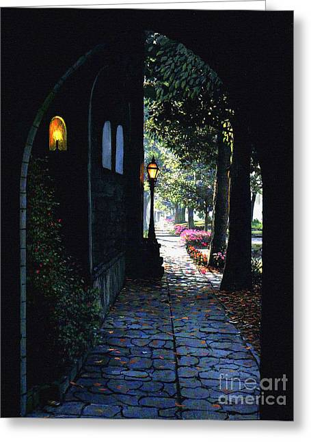 The Candle Greeting Card by Robert Foster