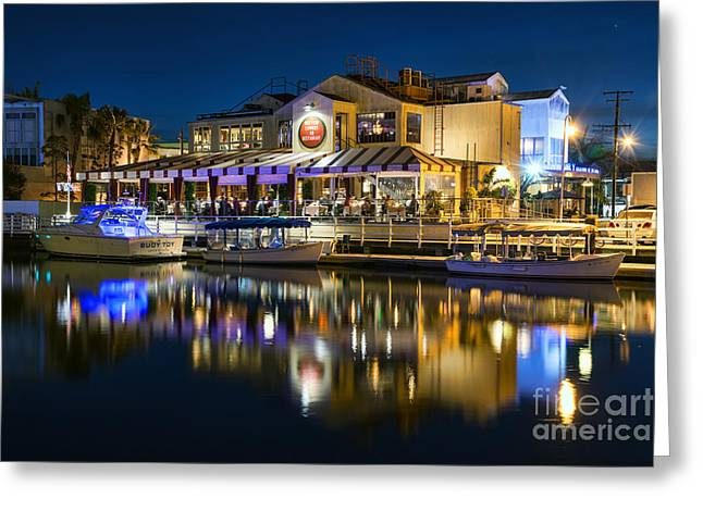The Cannery Restaurant Greeting Card