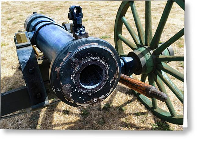 The Cannon Of Elkton Greeting Card by Daniel LaFollette