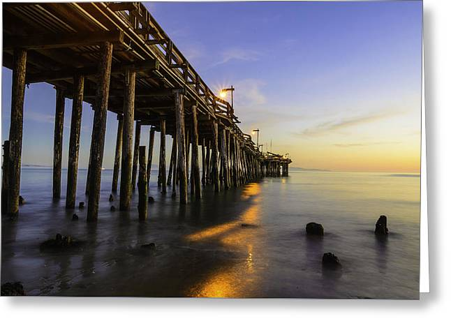 The Capitola Pier Greeting Card
