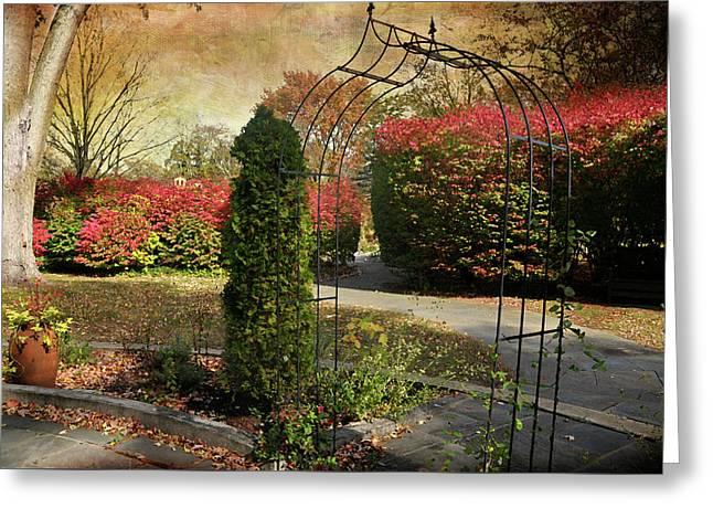 The Caramoor Trellis Greeting Card